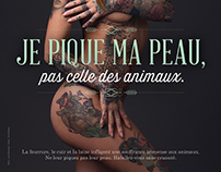 Campagne Peta avec Fanny Maurer