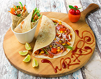Wraps - Food Photography by Arpit patel