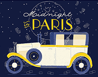 Midnight in Paris Notebook