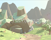 PolyWorld - Low Poly 3D Animation (Episode I)