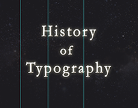Time table of Typography