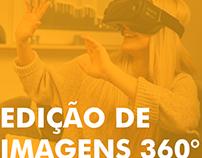 Edição de imagens 360°