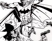 The Shadow Batman: Sketch Cover