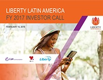 Investor Relations Call Deck for Liberty Latin America