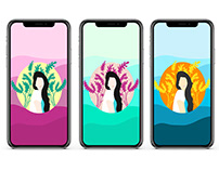 Gradient Customised Wallpapers