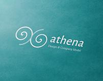 Athena Model (Graphic and Editorial Design)