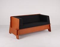 'Talk Talk'_two seater sofa