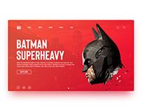 DC Website Concept