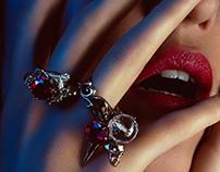 """Rock the jewels"" for Fashion World Magazine"