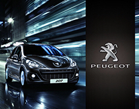 PEUGEOT - Website & Advergame
