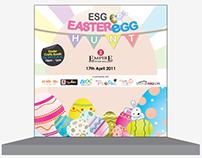 Stage Backdrop - Easter Egg Hunt