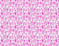Lots of Hearts Pattern