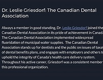Leslie Griesdorf: Association Affiliations