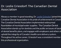Leslie Griesdorf: Association Affiliations