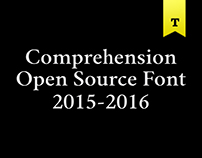Comprehension Open Source Typeface
