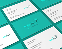 85x55 Business Card Mockup