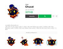 Chucat V1 Stickers LINE