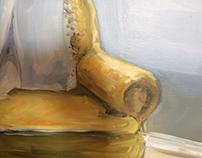 Golden portrait