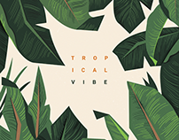 Tropical vibe - Poster