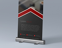 Roll-Up Banner Design 1