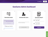Wildcat GeoGame UI/UX Enhancement