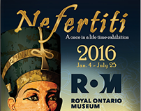 Nefertiti at ROM Poster