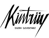 """Identidad """"Kintruy: Diseño sustentable"""""""