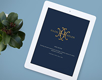 Hazel & Helen Home Couture // Logo + Identity System