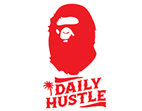 DAILY HUSTLE X A BATHING APE (Brand Concept III)