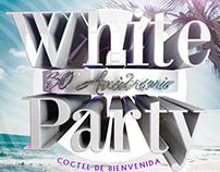 Cartel fiesta temática La Zona Disco Lounge