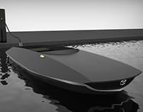 Mazda MIZU - The Electric Boat Sharing System