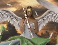 الملاك المجنح