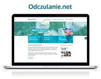 Odczulanie.net website design