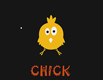 2D Animation- Chick