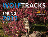 Wolftracks Spring 2015 - Internal Magazine/Newsletter