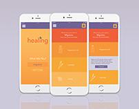 App Design: Natural Healing