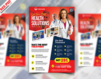 Health Care Services Marketing Flyer PSD