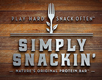 Simply Snackin Branding and Packaging