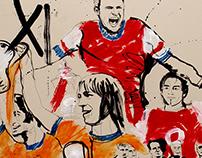 Arsenal Football Club: FA Cup final preview film art