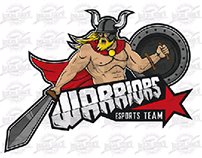 Warriors eSports Team logo v2