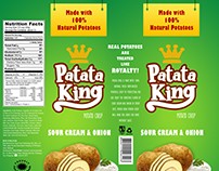 Patata King Package Design