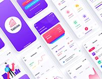 Investment Portfoliio Mobile App UI Template