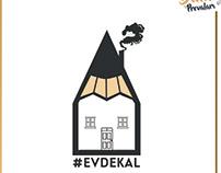 DenemeBank #EvdeKal Post Çalışması.