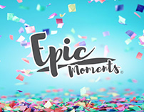 Epic Moments: Brand Identity (Version 1)
