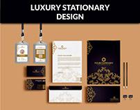 Luxury Stationary Design