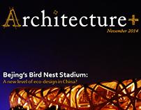 Architecture+ Cover