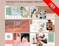 Free Beauty and Spa Facebook Cover Template