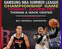 Designing the 2014 NBA Summer League