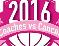 Coaches vs Cancer Shirt Design