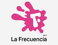 Redesign Concept for La Frecuencia 107.7 FM